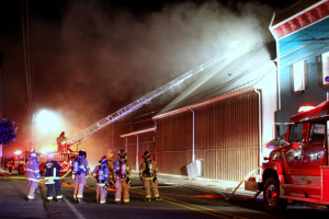 Carlton fire