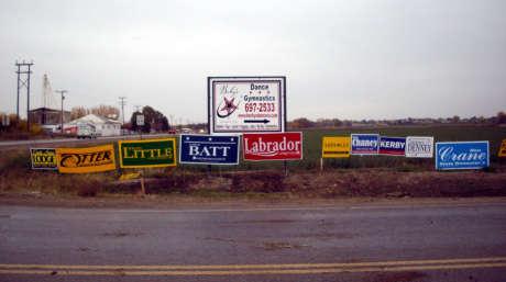 Middleton signage