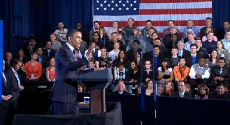 Obama at Hillsboro