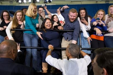 Obama at Boise