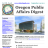 Oregon Public Affairs Digest - single issue
