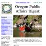 Oregon Public Affairs Digest