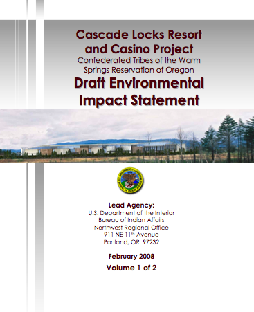 Cascade Locks report