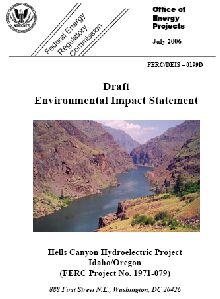 Hells Canyon Dams DEIS