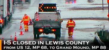 Lewis flooding