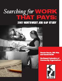 Northwest Job Gap study