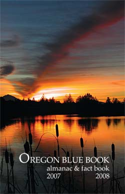 Oregon Blue Book cover