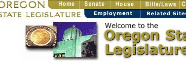 Oregon Legislature site