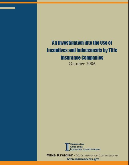 title insurance report