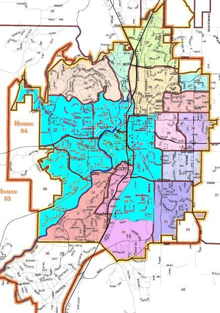 Bend precincts