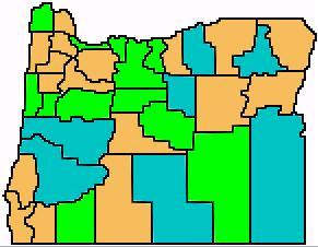 Oregon 2002 gubernatorial primary results