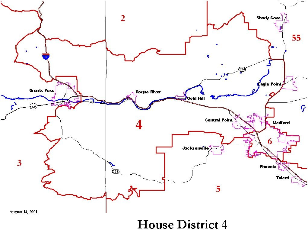 Oregon House District 4