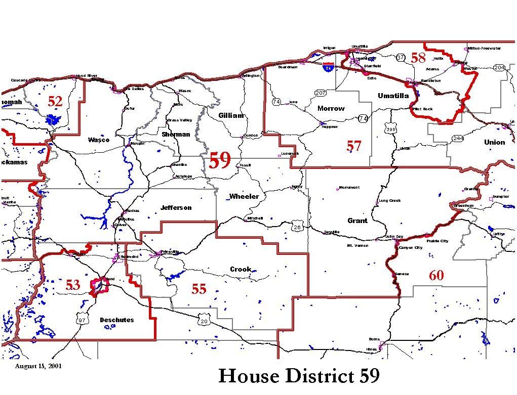 Oregon House District 59