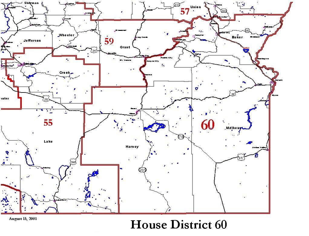 Oregon House District 60