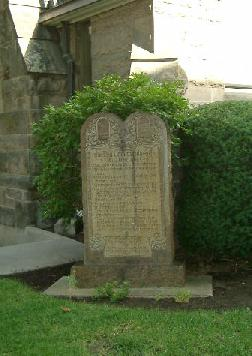 10 Commandments monument
