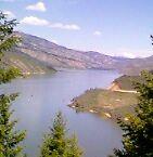 Anderson Ranch Dam reservoir