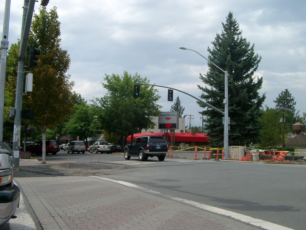 Bend downtown