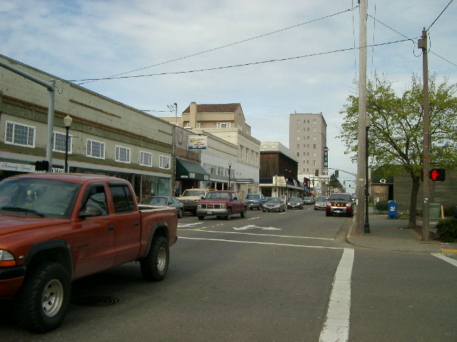 Downtown Coos Bay