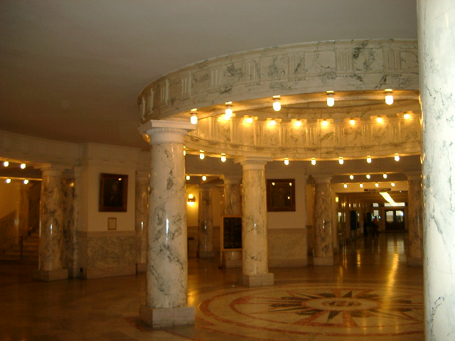 Idaho statehouse interior