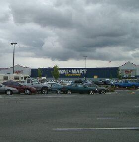 Wal-Mart at Omak