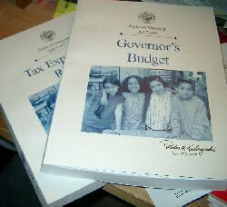 Oregon governor's budget books