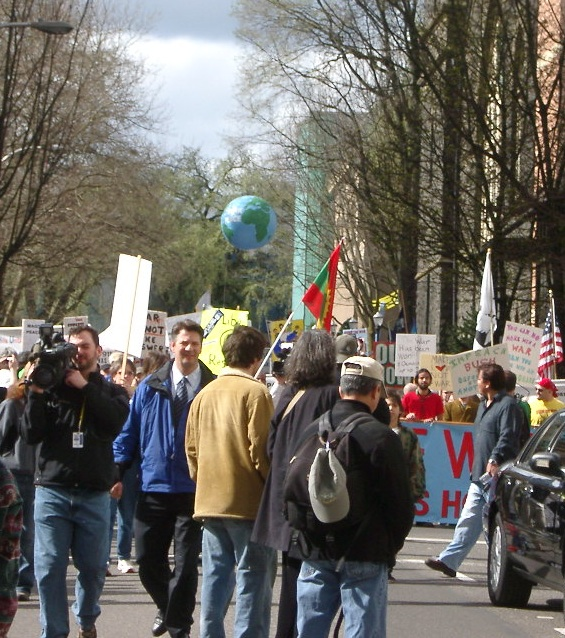 Portland peace demonstration