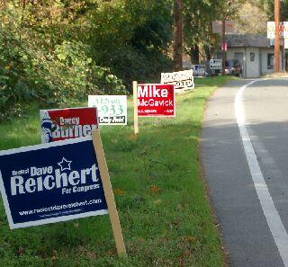 signs at Redmond