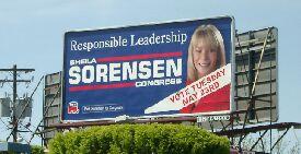 Sheila Sorensen billboard
